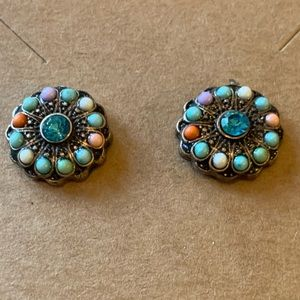 💥4/$10💥Vintage Colorful Stud Earrings